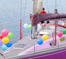 День Рождения на яхте