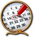 Аренда яхт Киев - календарь