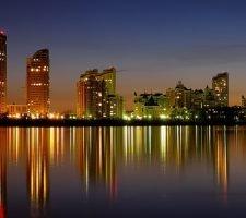 Прогулка по ночному городу