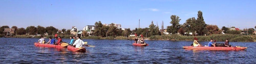 Водные развлечения - экскурсии на байдарках
