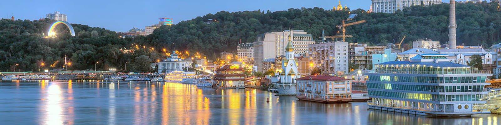 Киевский речной вокзал - водный отдых на яхте