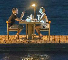Романтический ужин с ночевкой