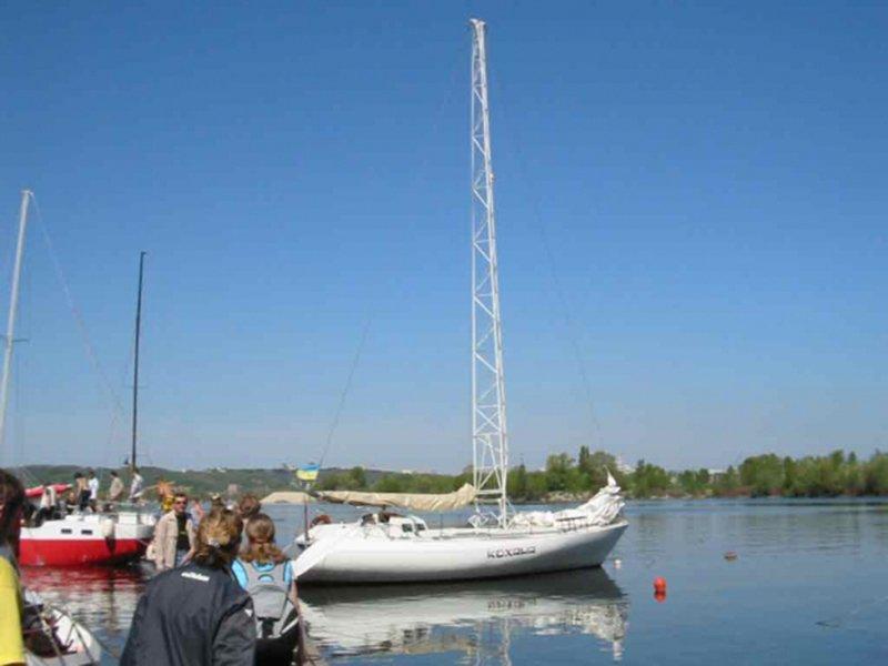 Парусная яхта Кохана
