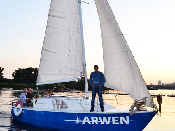Парусная яхта АРВЕН