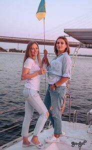 Отдых и фотосессия на яхте