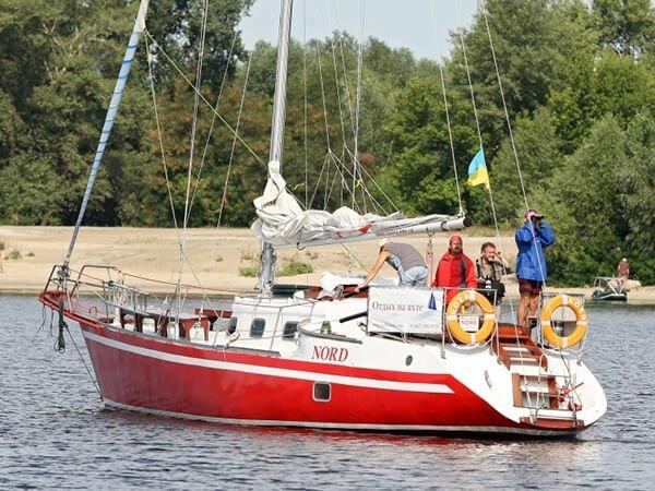 Норд - аренда яхты с капитаном в Киеве