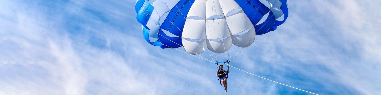 Водное развлечение - Полет на парасейле