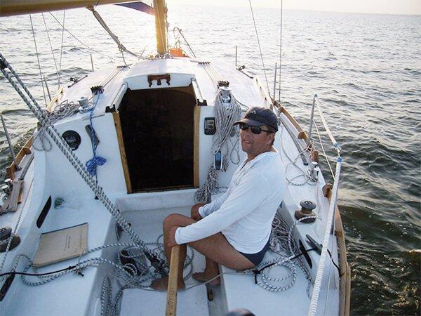 Парусная яхта ЛЮБАВА с капитаном