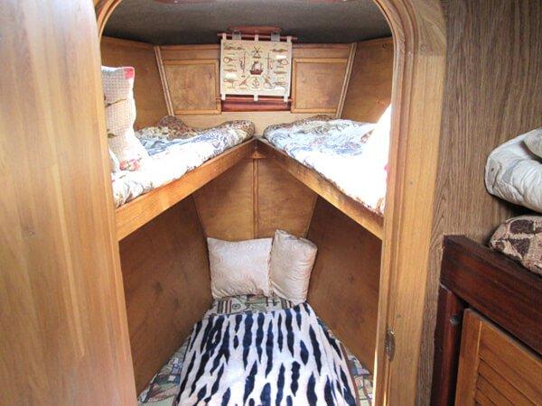 яхта Норд - носовая каюта