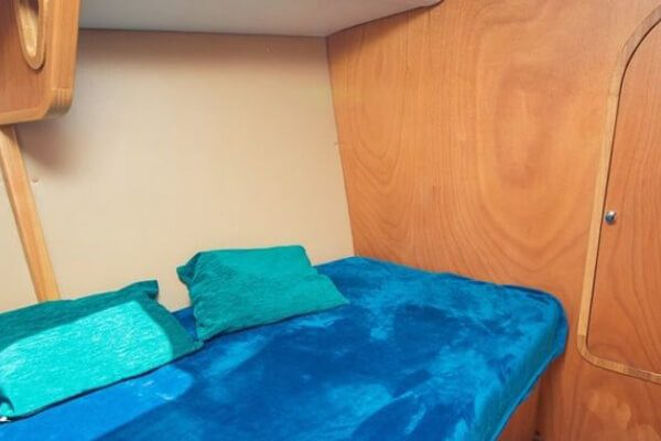 яхта Пилар спальное место
