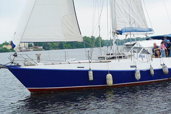 яхта Яна (капитан Сергей)